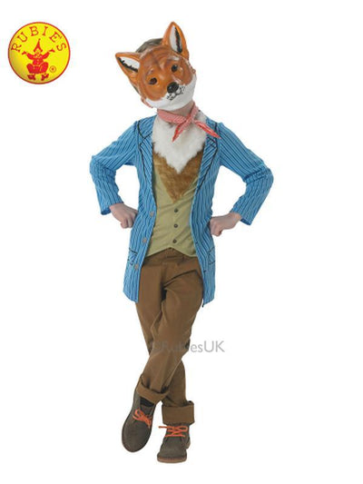 MR. FOX DELUXE COSTUME - SIZE L (7-8 YRS)-Costumes - Boys-Jokers Costume Hire and Sales Mega Store