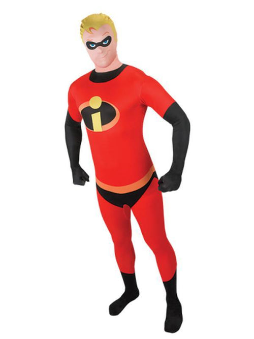 Mr Incredible 2Nd Skin Suit- Size Xl-Costumes - Mens-Jokers Costume Hire and Sales Mega Store
