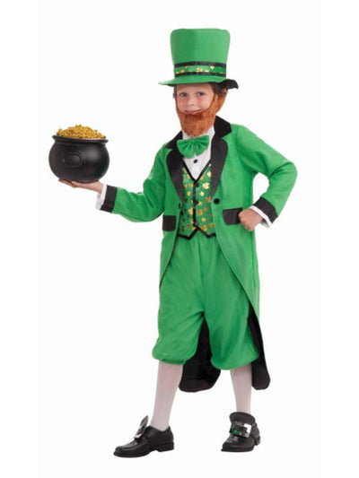 Mr Leprechaun - Size M-Costumes - Boys-Jokers Costume Hire and Sales Mega Store
