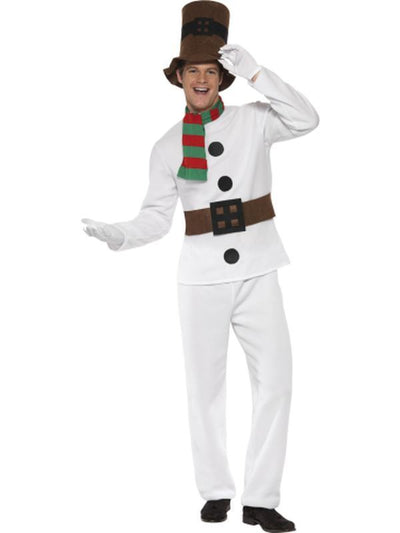 Mr Snowman Costume-Jokers Costume Mega Store