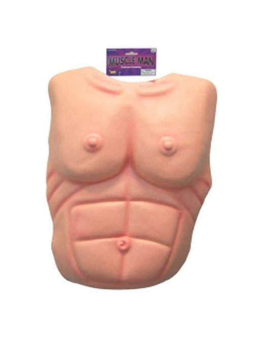 Muscleman Chest-Boobs & Buttocks-Jokers Costume Hire and Sales Mega Store