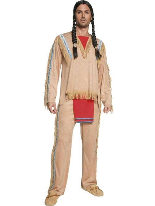 Native American Inspired Chief Costume-Costumes - Boys-Jokers Costume Hire and Sales Mega Store