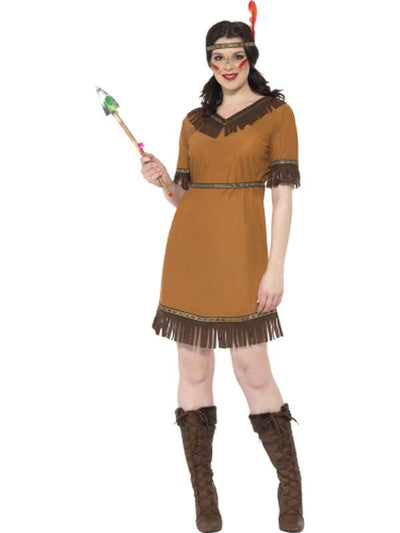 Native American Inspired Maiden Costume-Costumes - Women-Jokers Costume Hire and Sales Mega Store