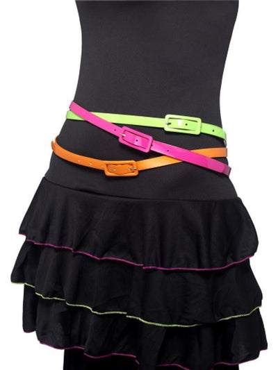 Neon Belts-Costume Accessories-Jokers Costume Hire and Sales Mega Store