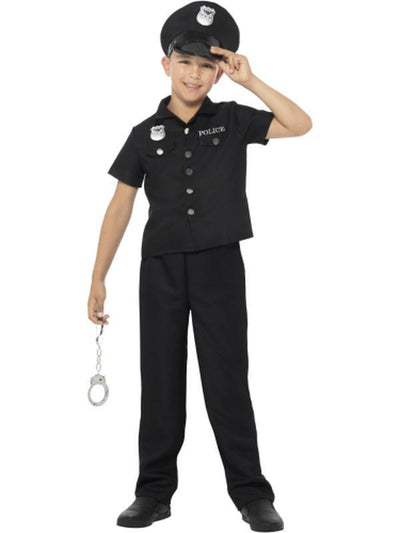 New York Cop Costume-Costumes - Boys-Jokers Costume Hire and Sales Mega Store