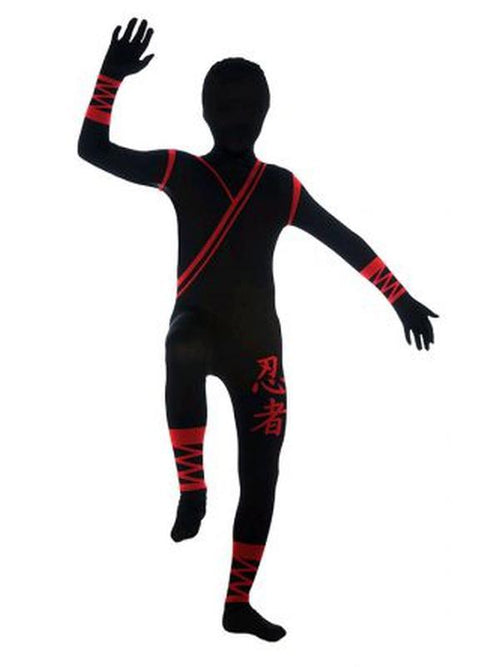 Ninja 2Nd Skin Costume - Size L-Costumes - Boys-Jokers Costume Hire and Sales Mega Store