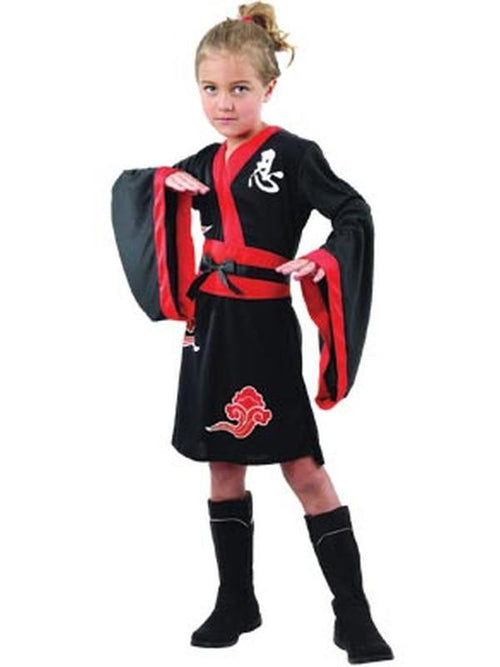 **Ninja Girl - Child - Small**-Costumes - Girls-Jokers Costume Hire and Sales Mega Store