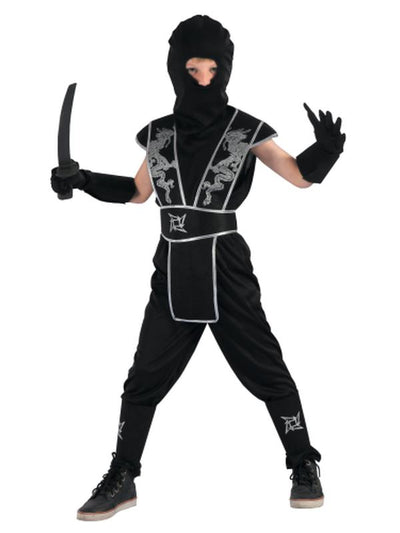 Ninja - Medium/Large-Costumes - Boys-Jokers Costume Hire and Sales Mega Store