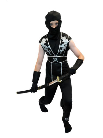 Ninja - Tween (XL/XXL)-Costumes - Boys-Jokers Costume Hire and Sales Mega Store