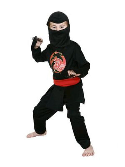 Ninja Warrior - Size 3-5-Costumes - Boys-Jokers Costume Hire and Sales Mega Store