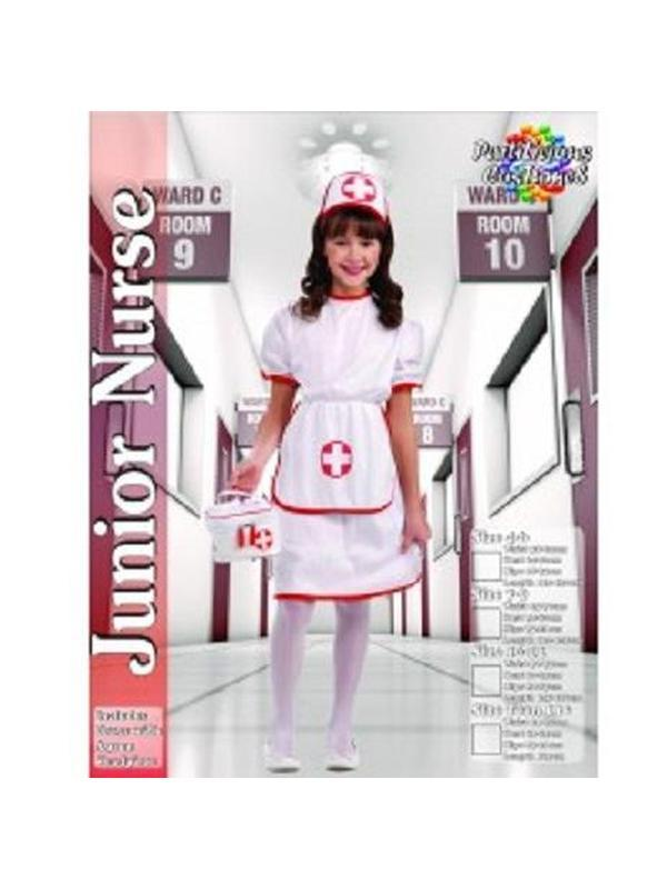 Nurse - Child-Costumes - Girls-Jokers Costume Hire and Sales Mega Store