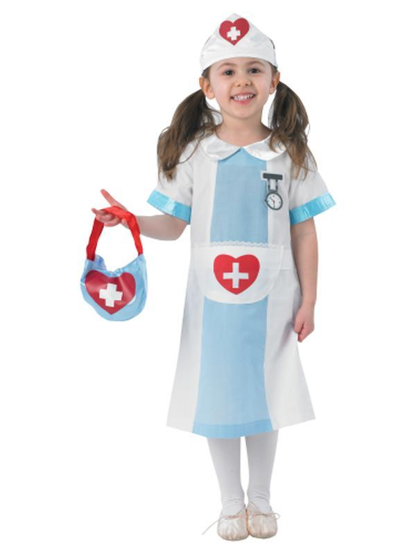 Nurse - Size S-Costumes - Girls-Jokers Costume Hire and Sales Mega Store