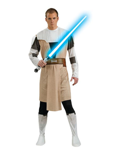 Obi Wan Kenobi Adult - Size Std-Costumes - Mens-Jokers Costume Hire and Sales Mega Store