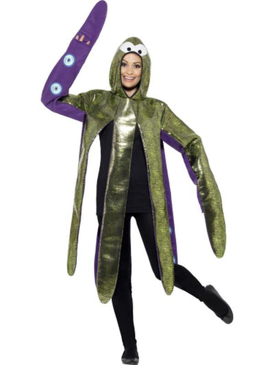 Octopus Costume, Foam Bonded-Costumes - Mens-Jokers Costume Hire and Sales Mega Store