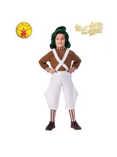 OOMPA LOOMPA CLASSIC COSTUME - SIZE S-Costumes - Boys-Jokers Costume Hire and Sales Mega Store
