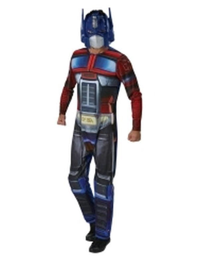 Optimus Prime Adult - Size Xl-Costumes - Mens-Jokers Costume Hire and Sales Mega Store