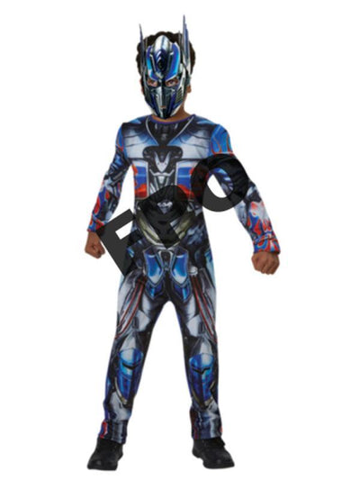 Optimus Prime Classic Costume - Size 6-8-Costumes - Boys-Jokers Costume Hire and Sales Mega Store