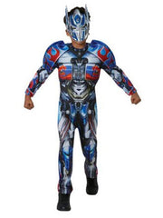 Optimus Prime Deluxe Costume - Size 6-8-Costumes - Boys-Jokers Costume Hire and Sales Mega Store
