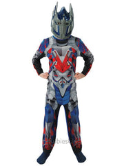 Optimus Prime Transformers 4 Costume Child - Size S-Costumes - Boys-Jokers Costume Hire and Sales Mega Store