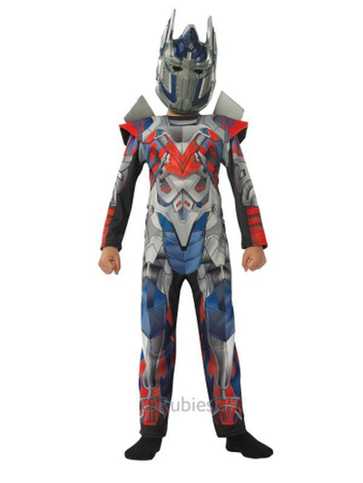 Optimus Prime Transformers 4 Deluxe Costume Size L-Costumes - Boys-Jokers Costume Hire and Sales Mega Store