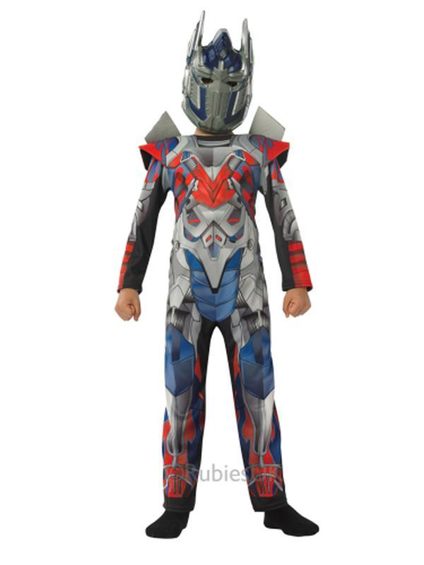 Optimus Prime Transformers 4 Deluxe Costume Size S-Costumes - Boys-Jokers Costume Hire and Sales Mega Store