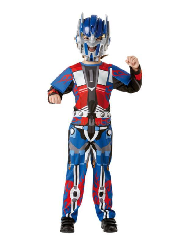 Optimus Prime Transformers Costume Child- Size S-Costumes - Boys-Jokers Costume Hire and Sales Mega Store