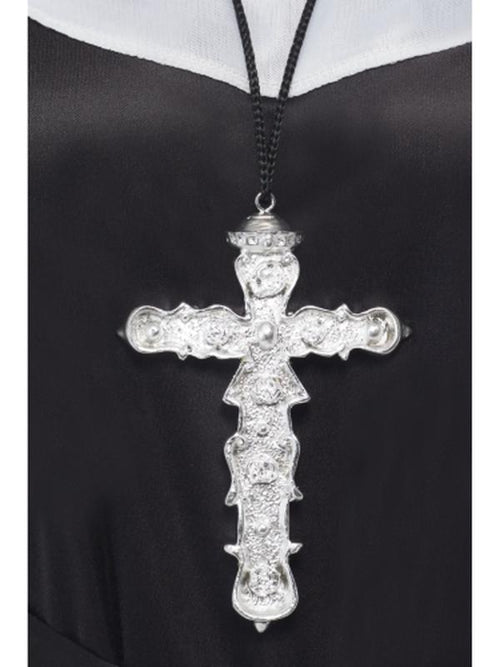 Ornate Cross Pendant-Costume Accessories-Jokers Costume Hire and Sales Mega Store