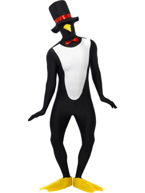 Penguin Second Skin Costume-Costumes - Mens-Jokers Costume Hire and Sales Mega Store