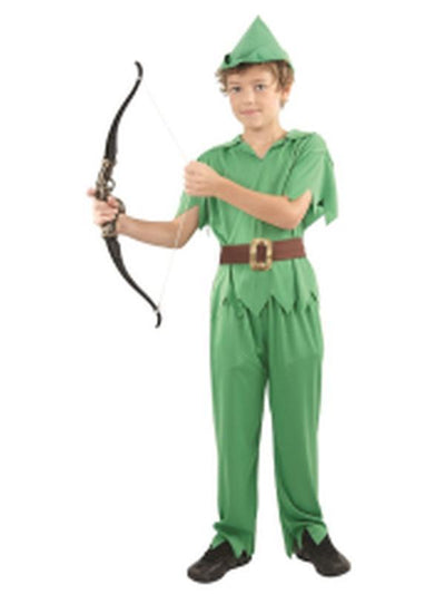Peter Pan - Child Medium-Costumes - Boys-Jokers Costume Hire and Sales Mega Store