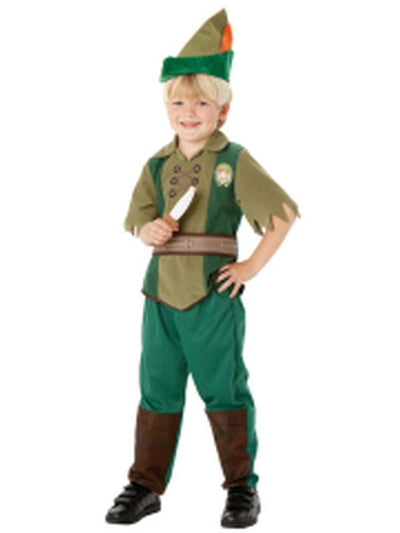 Peter Pan Child - Size M-Costumes - Boys-Jokers Costume Hire and Sales Mega Store
