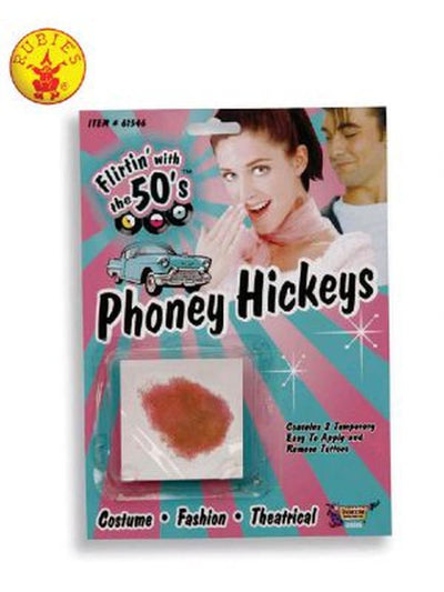 PHONY HICKEYS-Make up and Special FX-Jokers Costume Mega Store