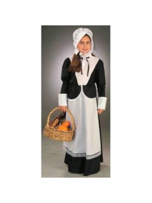 Pilgrim Girl Costume - Size L-Costumes - Girls-Jokers Costume Hire and Sales Mega Store