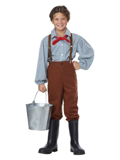 PIONEER BOY/CHILD-Costumes - Boys-Jokers Costume Hire and Sales Mega Store