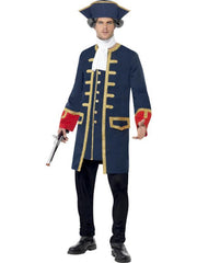 Pirate Commander Costume-Costumes - Mens-Jokers Costume Hire and Sales Mega Store