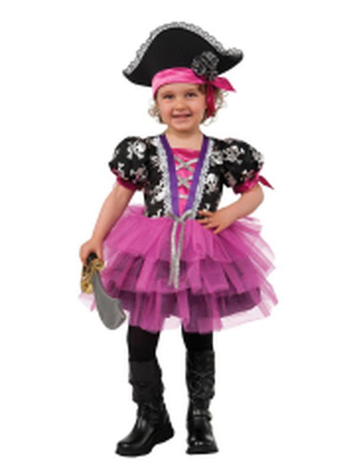 Pirate Princess Child Costume - Size Toddler-Costumes - Girls-Jokers Costume Hire and Sales Mega Store