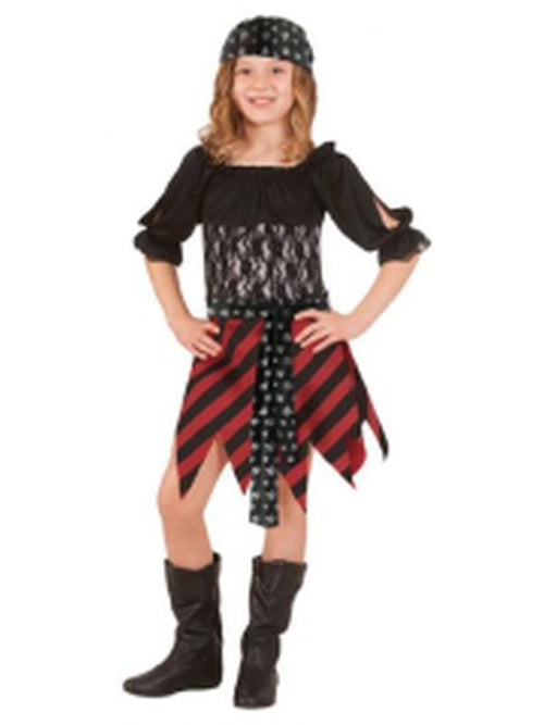 Pirate Tween Costume - Size Tween-Costumes - Girls-Jokers Costume Hire and Sales Mega Store