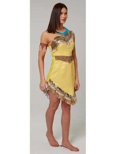 Pocahontas Adult - Size L-Costumes - Women-Jokers Costume Hire and Sales Mega Store