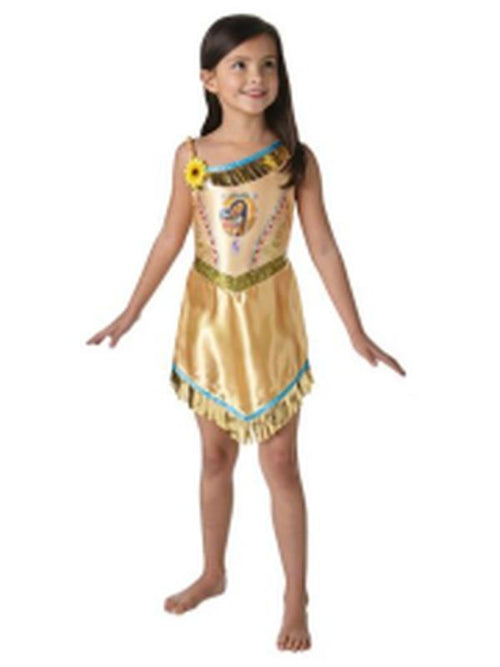Pocahontas Fairytale Dress - Size S-Costumes - Girls-Jokers Costume Hire and Sales Mega Store