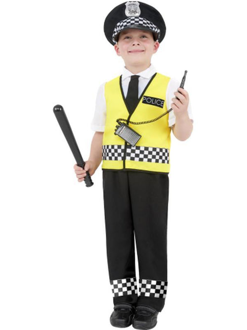 Police Boy Costume-Costumes - Boys-Jokers Costume Hire and Sales Mega Store