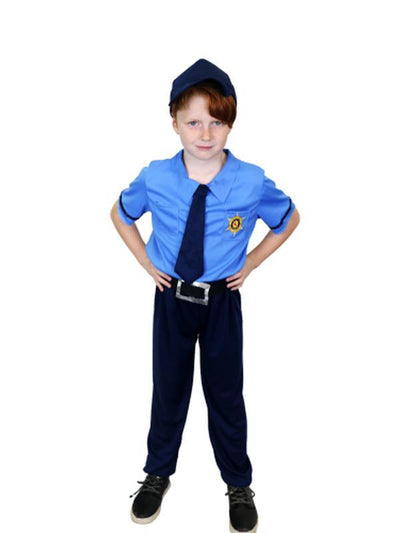 Police - Medium/Large-Costumes - Boys-Jokers Costume Hire and Sales Mega Store