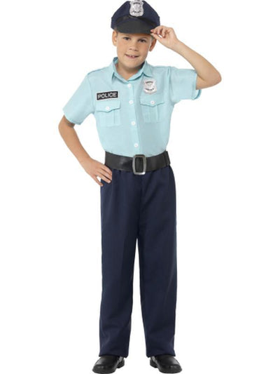 Police Officer Costume-Costumes - Boys-Jokers Costume Hire and Sales Mega Store