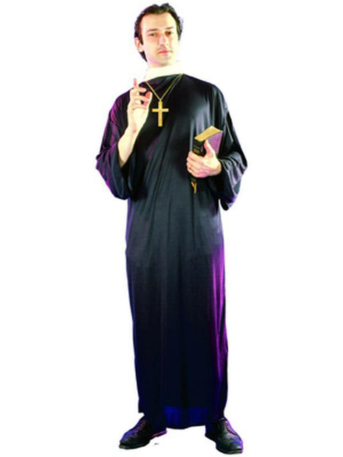 Priest - Adult-Costumes - Mens-Jokers Costume Hire and Sales Mega Store