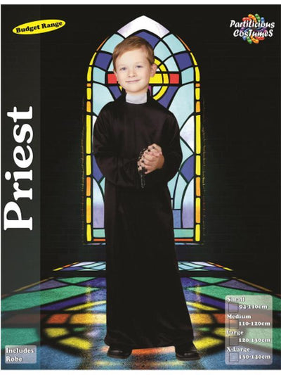Priest Costume by Statmart-Costumes - Boys-Jokers Costume Hire and Sales Mega Store