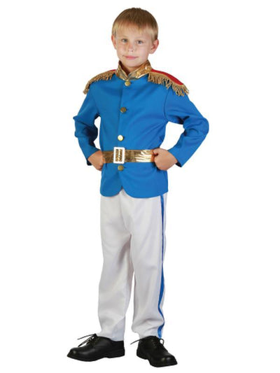 Prince - - Medium/Large-Costumes - Boys-Jokers Costume Hire and Sales Mega Store
