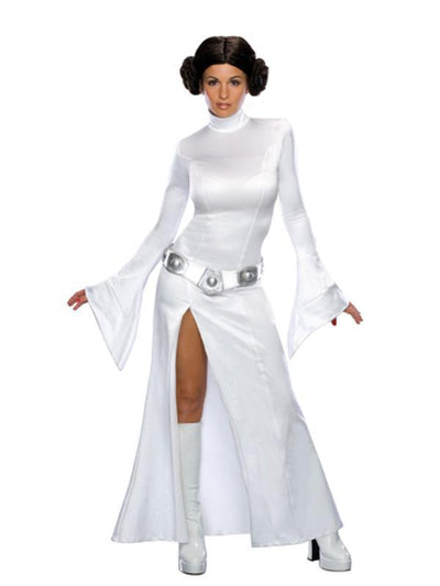 Princess Leia - Size M-Costumes - Women-Jokers Costume Hire and Sales Mega Store