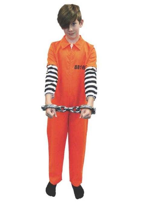 Prisoner - Tween One (XL)-Costumes - Boys-Jokers Costume Hire and Sales Mega Store