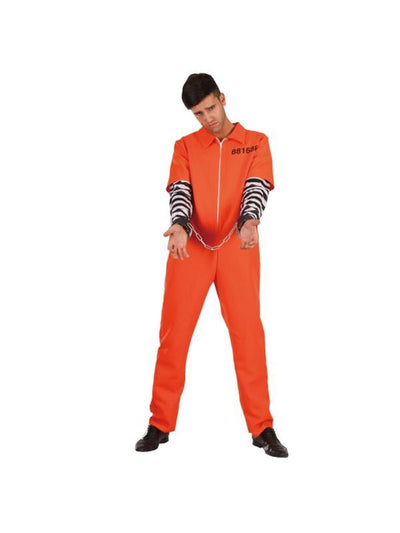 Prisoner - Tween - XXL-Costumes - Boys-Jokers Costume Hire and Sales Mega Store