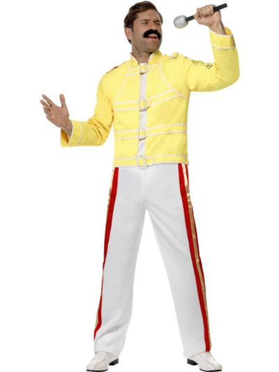 Queen Freddie Mercury Costume-Costumes - Mens-Jokers Costume Hire and Sales Mega Store