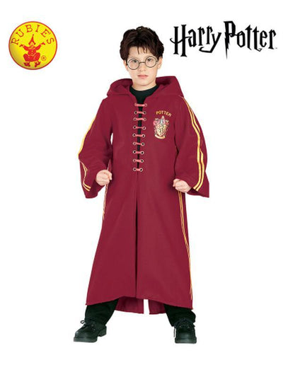 QUIDDITCH DELUXE ROBE CHILD - SIZE L-Costumes - Boys-Jokers Costume Hire and Sales Mega Store