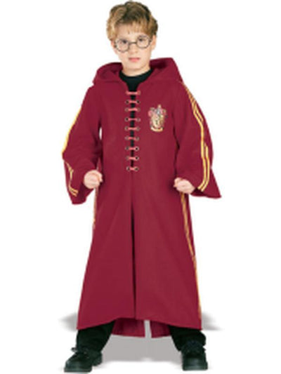 Quidditch Deluxe Robe Child- Size S-Costumes - Boys-Jokers Costume Hire and Sales Mega Store